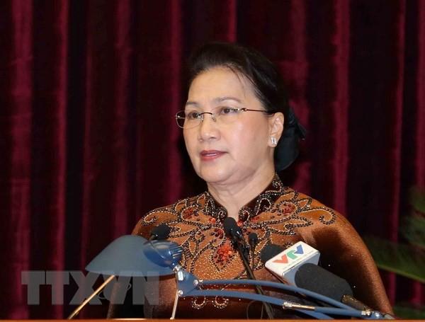 Chủ tịch Quốc hội: Tập trung kiểm tra toàn diện công tác tổ chức, cán bộ, đặc biệt nhân sự chuẩn bị cho đại hội đảng bộ các cấp - Ảnh 1.