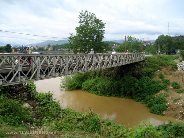 Điện Biên: Sửa chữa bổ sung một số hạng mục di tích Cầu Mường Thanh - Ảnh 1.