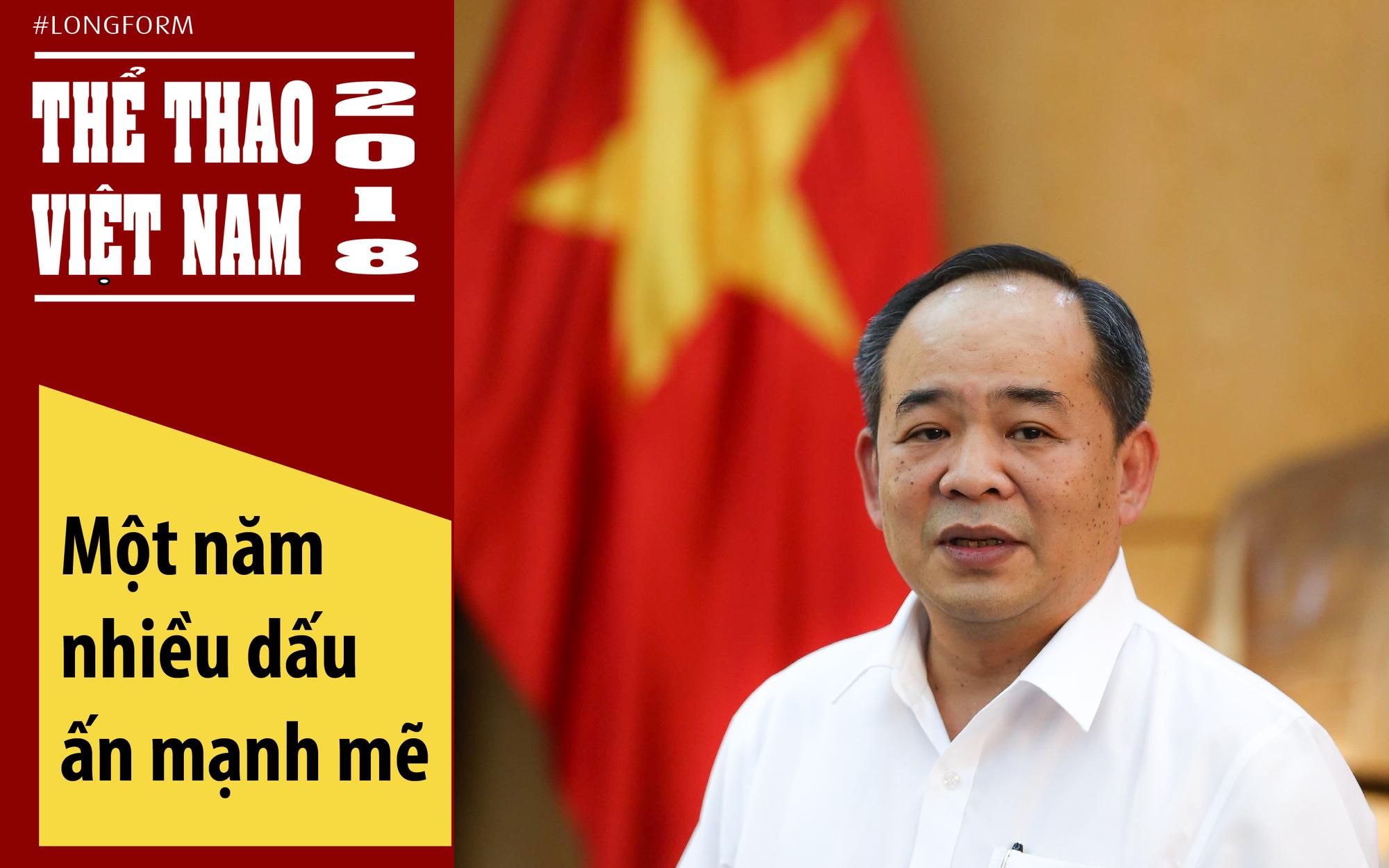 Thể thao Việt Nam 2018: Một năm nhiều dấu ấn mạnh mẽ