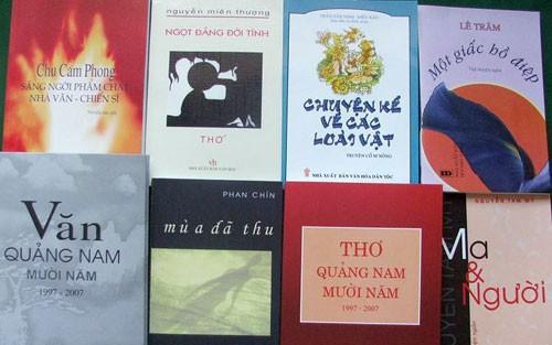 Quảng Nam hỗ trợ sáng tạo và phổ biến tác phẩm, công trình văn học