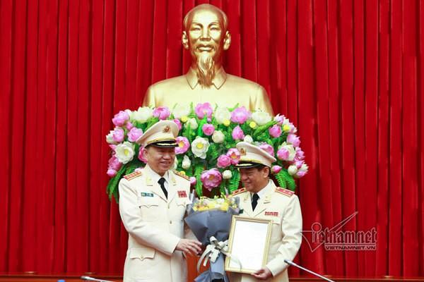 Giám đốc Công an Hà Nội Đoàn Duy Khương được thăng hàm Trung tướng - Ảnh 1.