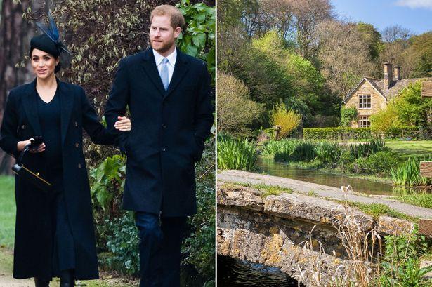 Bỏ lâu đài sang trọng, vợ chồng Hoàng tử Harry về ở khu trang trại tuyệt đẹp này - Ảnh 1.