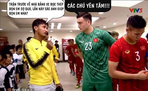 Chiến thắng của ĐT Việt Nam và cầu thủ Malaysia bỗng trở thành ảnh chế siêu hot trên mạng xã hội - Ảnh 1.