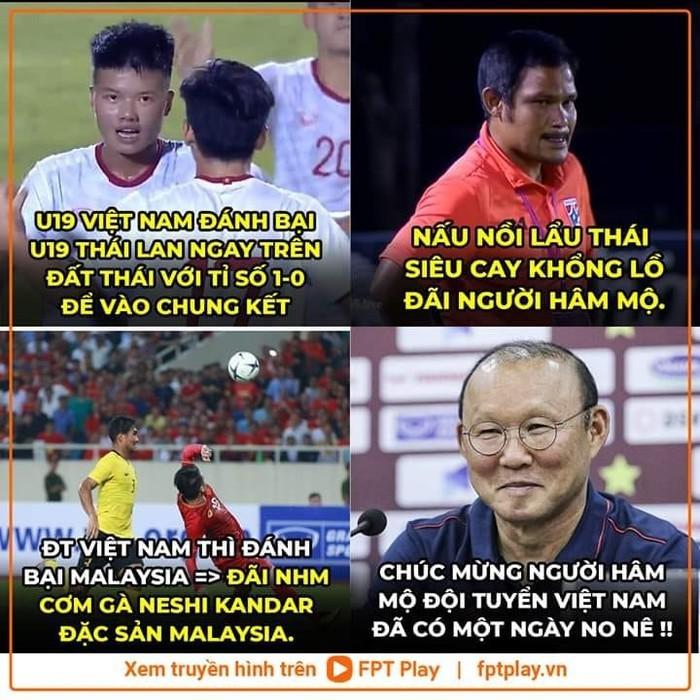 Chiến thắng của ĐT Việt Nam và cầu thủ Malaysia bỗng trở thành ảnh chế siêu hot trên mạng xã hội - Ảnh 12.