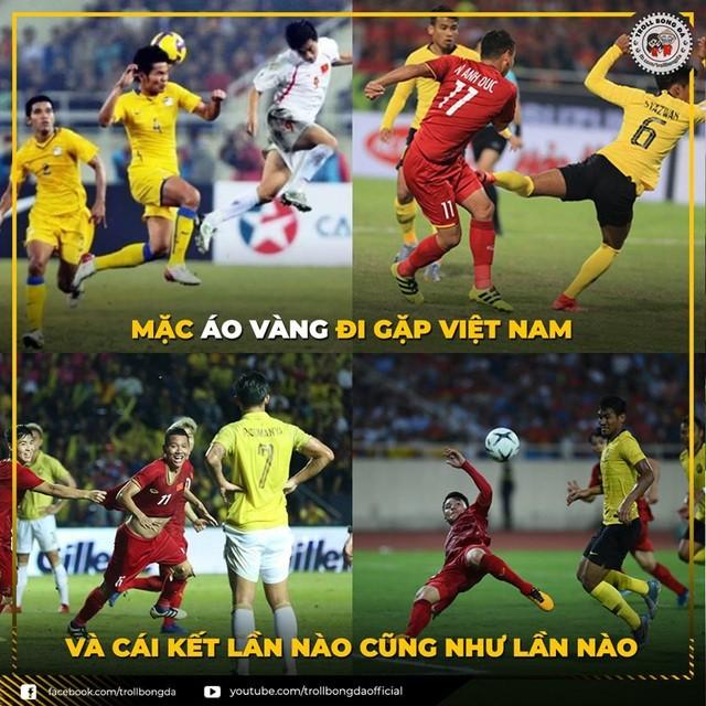 Chiến thắng của ĐT Việt Nam và cầu thủ Malaysia bỗng trở thành ảnh chế siêu hot trên mạng xã hội - Ảnh 13.