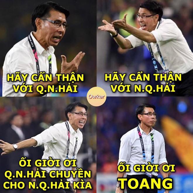 Chiến thắng của ĐT Việt Nam và cầu thủ Malaysia bỗng trở thành ảnh chế siêu hot trên mạng xã hội - Ảnh 2.