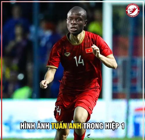 Chiến thắng của ĐT Việt Nam và cầu thủ Malaysia bỗng trở thành ảnh chế siêu hot trên mạng xã hội - Ảnh 3.