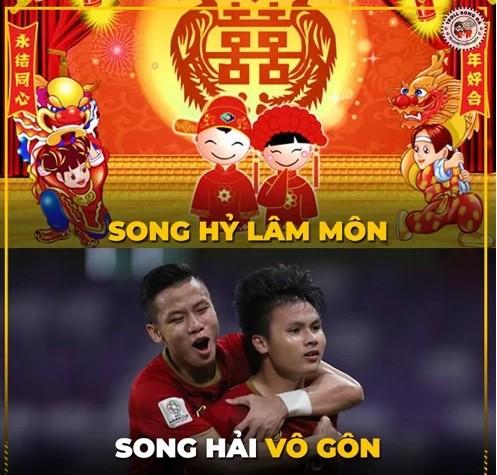 Chiến thắng của ĐT Việt Nam và cầu thủ Malaysia bỗng trở thành ảnh chế siêu hot trên mạng xã hội - Ảnh 9.