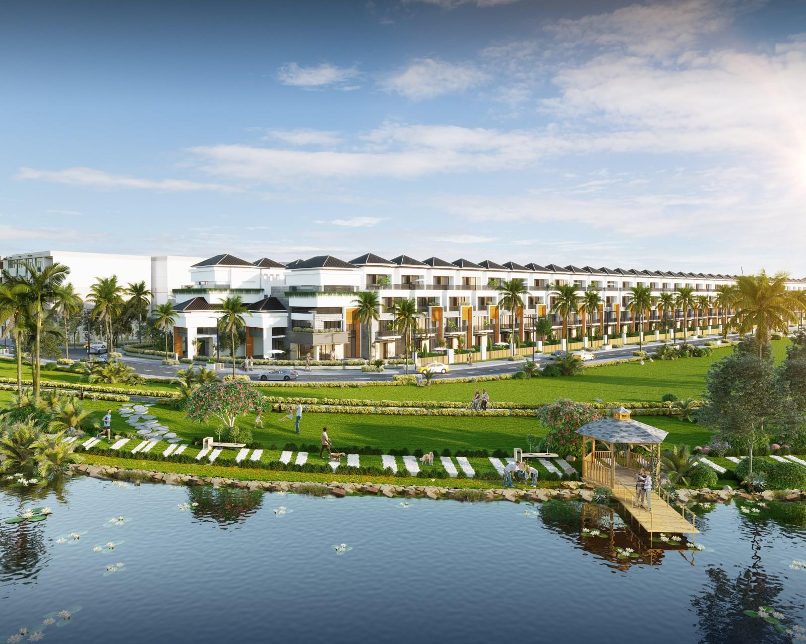 Nhà phố ven sông, xu hướng mới đón đầu quy hoạch tại Đà Thành - Ảnh 2.