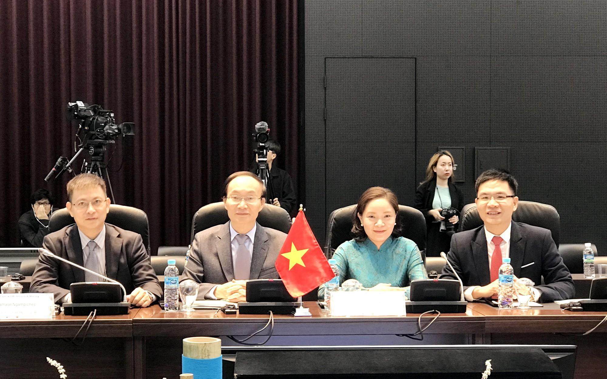 Hội nghị đặc biệt Bộ trưởng phụ trách Văn hoá ASEAN-Hàn Quốc tại Gwangju