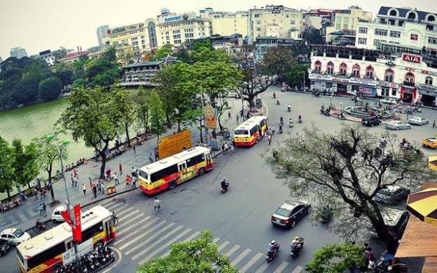 Hà Nội thí điểm cấm xe 24/24 giờ trong 1 tháng trên 9 tuyến phố quanh Hồ Gươm