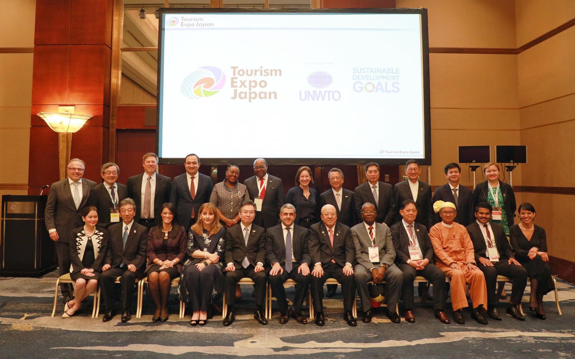 Toạ đàm Bộ trưởng du lịch trong khuôn khổ Hội chợ Du lịch Quốc tế EXPO Nhật Bản 2019