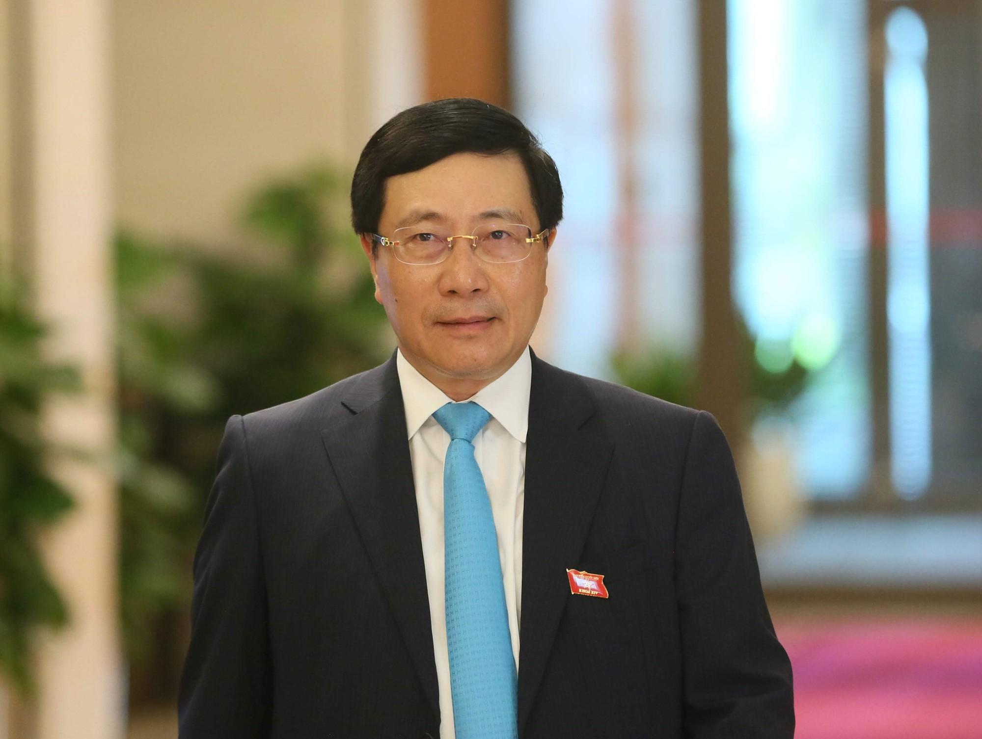Phó Thủ tướng - Bộ trưởng Ngoại giao nói về diễn biến vụ 39 người trong container tại Anh - Ảnh 1.
