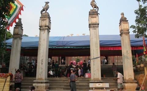Bộ VHTTDL thẩm định Báo cáo KTKT tu bổ, tôn tạo di tích Đền Chín Giếng, tỉnh Thanh Hóa