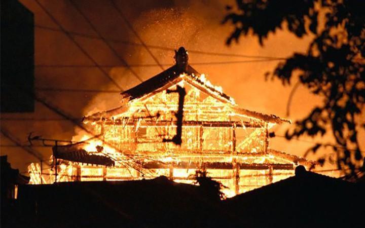 Lâu đài Shuri, di sản thế giới có tuổi đời 600 năm bị lửa thiêu rụi