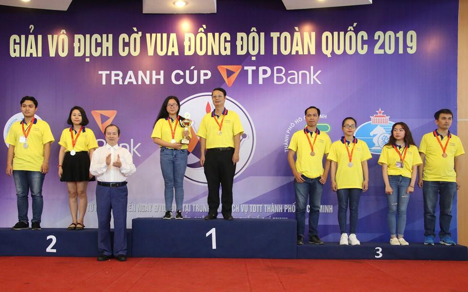 TP.HCM thắng lớn tại giải cờ vua đồng đội toàn quốc 2019