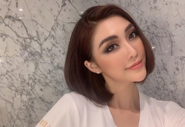 Tường Linh phản ứng khi bị chỉ trích lấy chuyện tình cảm PR tại Miss Universe Vietnam - Ảnh 1.