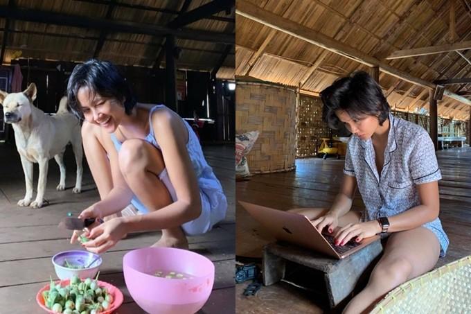 Xúc động với cuộc sống Hoa hậu H'Hen Niê ở quê - Ảnh 4.