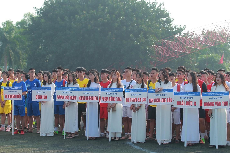 Khai mạc giải bóng đá dành cho học sinh THPT lớn nhất toàn quốc  - Ảnh 1.
