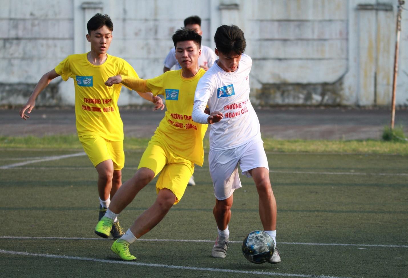 Khai mạc giải bóng đá dành cho học sinh THPT lớn nhất toàn quốc  - Ảnh 4.