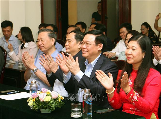 Ngày hội Đại đoàn kết tại phường Quán Thánh, quận Ba Đình, Hà Nội - Ảnh 1.