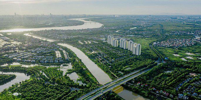"""Làn sóng dịch chuyển ra """"bên kia"""" sông Hồng: Bất động sản Đông Nam hút giới đầu tư - Ảnh 1."""