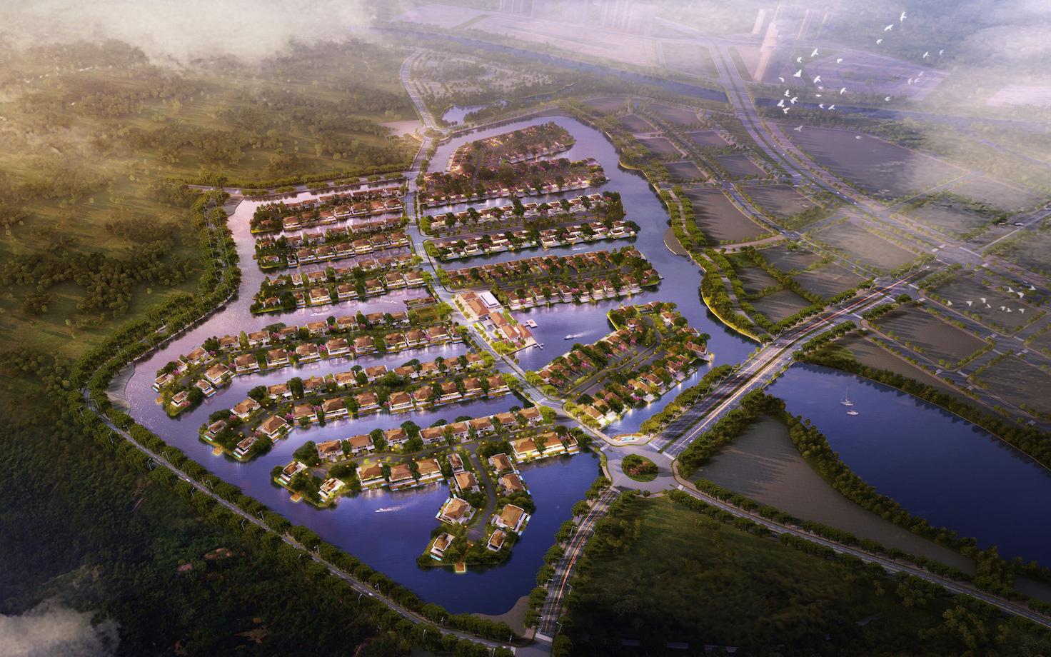 """Làn sóng dịch chuyển ra """"bên kia"""" sông Hồng: Bất động sản Đông Nam hút giới đầu tư - Ảnh 2."""