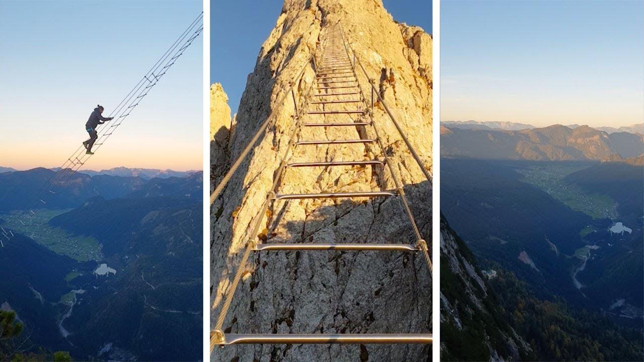 Đoạn clip chinh phục nấc thang lên thiên đường ở Áo khiến dân tình rụng rời chân tay, thu về cả chục triệu view chỉ sau vài ngày - Ảnh 2.