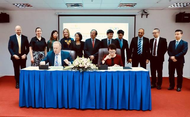 Vinmec và ICON Group hợp tác chiến lược điều trị ung thư theo tiêu chuẩn quốc tế - Ảnh 1.