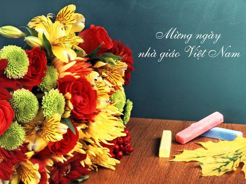 Không nhận hoa, quà chúc mừng Ngày Nhà giáo Việt Nam - Ảnh 1.