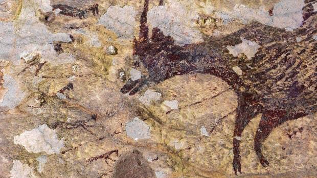 Tác phẩm nghệ thuật lâu đời nhất thế giới được tìm thấy tại Indonesia - Ảnh 1.