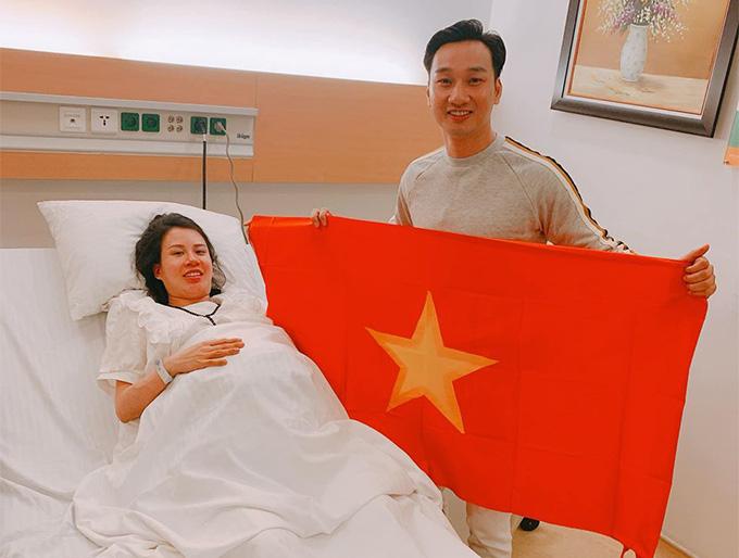 MC Thành Trung trải lòng khi vợ sinh đôi con trai - Ảnh 3.