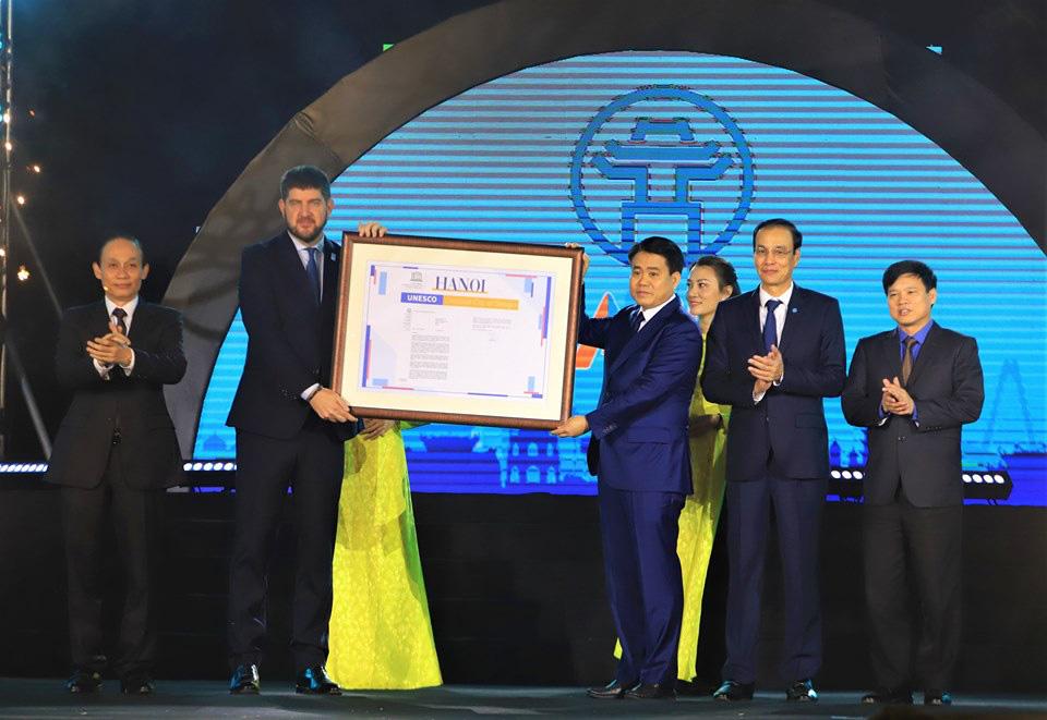 Hà Nội công bố gia nhập Mạng lưới các thành phố sáng tạo của UNESCO - Ảnh 3.