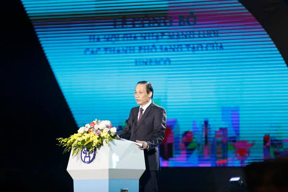 Hà Nội công bố gia nhập Mạng lưới các thành phố sáng tạo của UNESCO - Ảnh 2.
