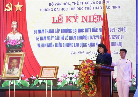 Trường Đại học TDTT Bắc Ninh: Phát huy truyền thống đầu tàu của chiếc nôi đào tạo về thể thao hàng đầu cả nước