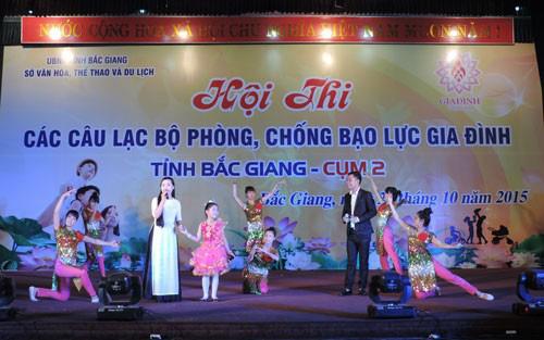 Những kết quả ghi nhận trong công tác Gia đình trên địa bàn tỉnh Bắc Giang