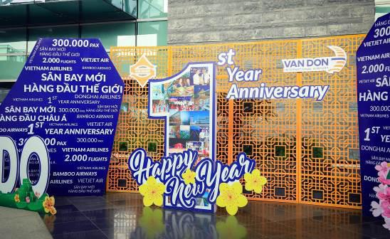 """Một năm """"mở cửa bầu trời"""" đầy dấu ấn của sân bay quốc tế Vân Đồn - Ảnh 1."""