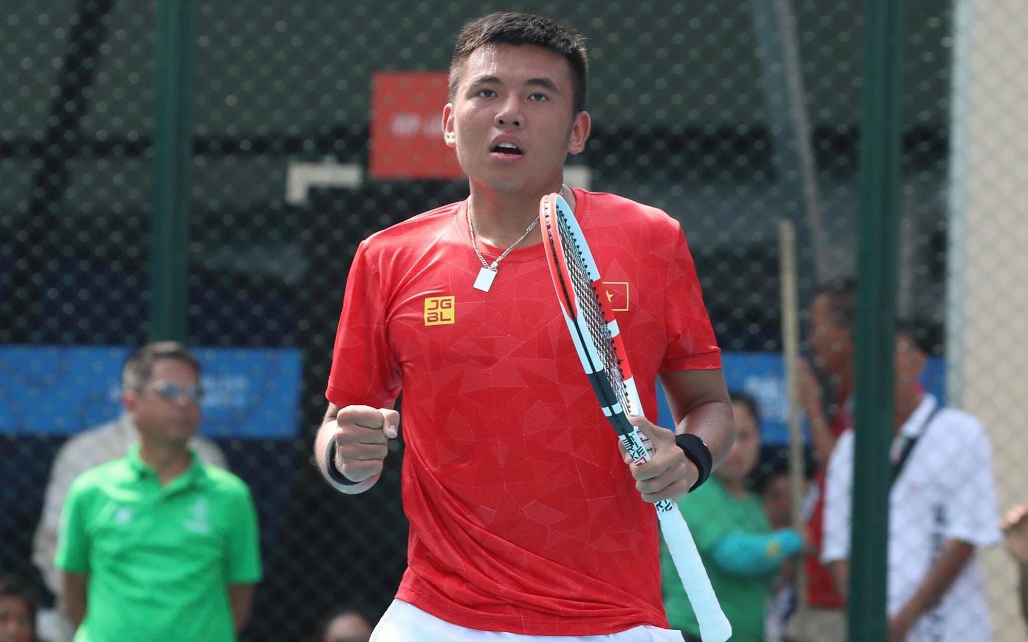 Lý Hoàng Nam giành HCV lịch sử Quần vợt tại SEA Games 30