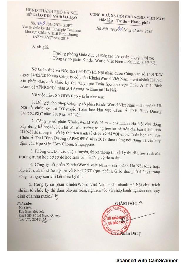 Kỳ lạ, Giám đốc Sở GDĐT Hà Nội trả lời công văn trong... tương lai - Ảnh 1.
