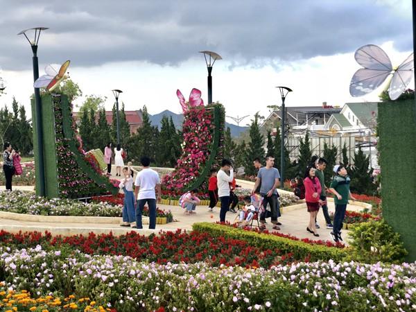 300.000 lượt khách đến Lâm Đồng dịp Tết Nguyên đán Kỷ Hợi 2019 - Ảnh 1.