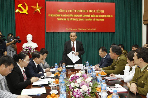 Phó Thủ tướng Trương Hòa yêu cầu lực lượng quản lý thị trường tập trung thực hiện một số nhiệm vụ trọng tâm - Ảnh 1.