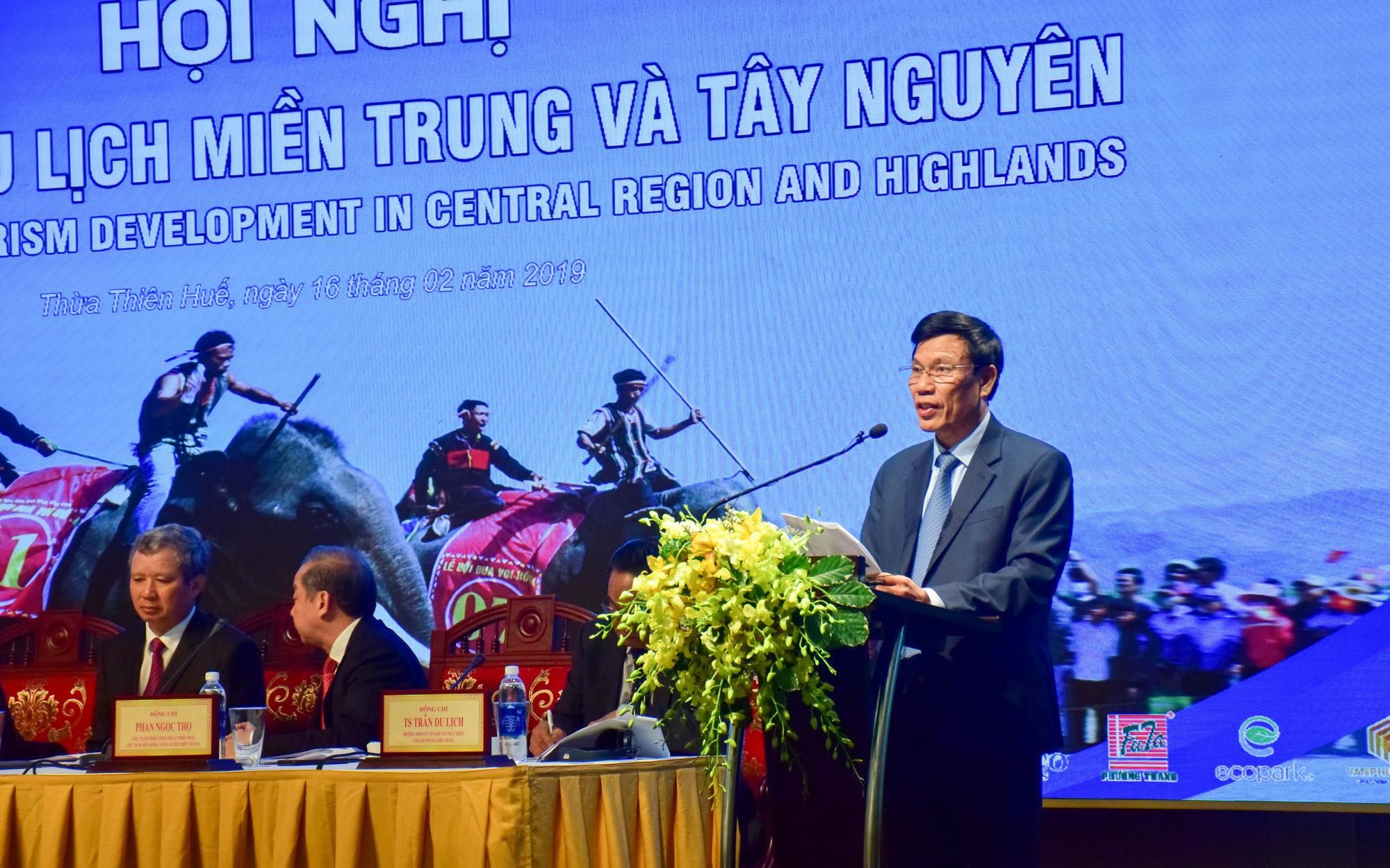 Bộ trưởng Nguyễn Ngọc Thiện nêu 9 giải pháp đưa miền Trung - Tây Nguyên thành vùng du lịch động lực