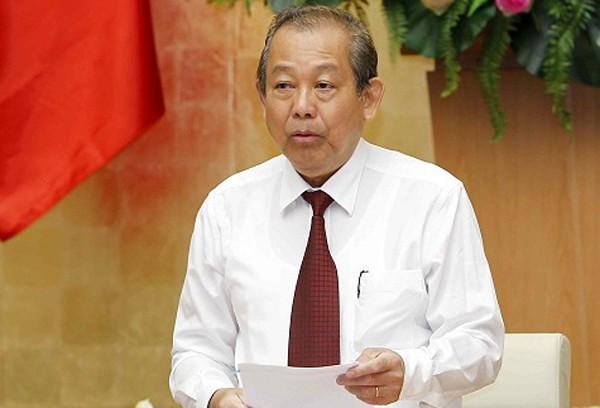 Phó Thủ tướng Trương Hòa Bình yêu cầu giải quyết dứt điểm phản ánh cưỡng chế thu hồi đất tại Hà Nam - Ảnh 1.