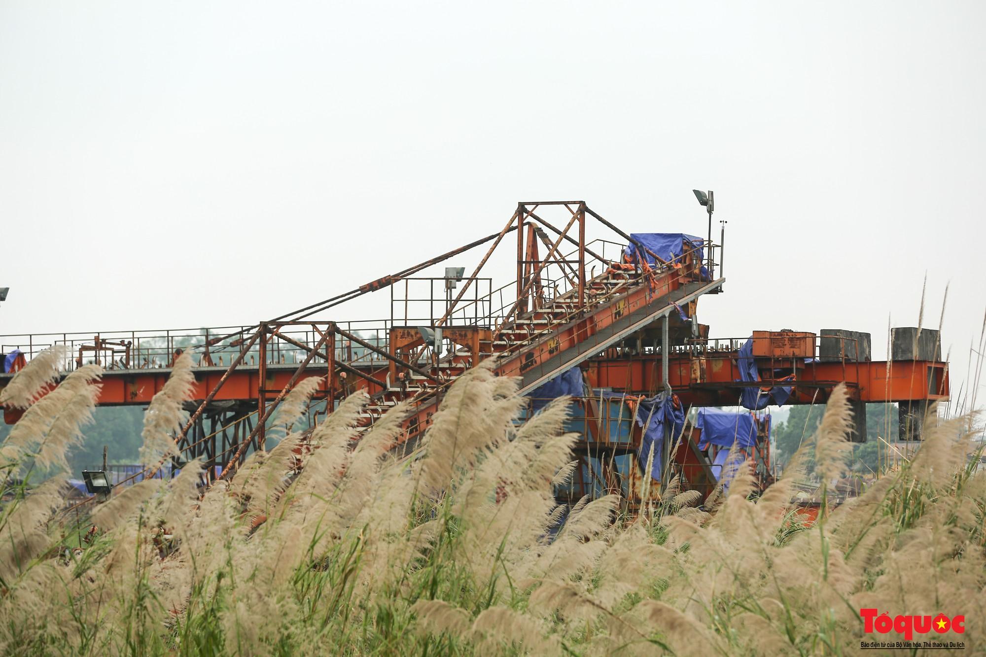 Sự hoang tàn, đắp chiếu bên trong dự án 8.100 tỉ đồng của Công ty Gang thép Thái Nguyên nhìn từ Flycam - Ảnh 11.