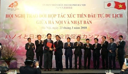 Hà Nội tổ chức Hội nghị xúc tiến đầu tư, du lịch với Nhật Bản vào cuối tháng 3 - Ảnh 1.