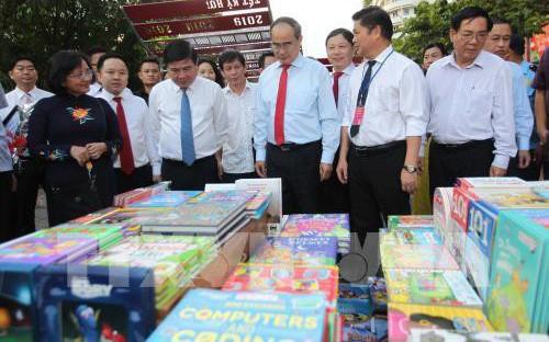 Khai mạc Lễ hội Đường sách Thành phố Hồ Chí Minh Tết Kỷ Hợi 2019