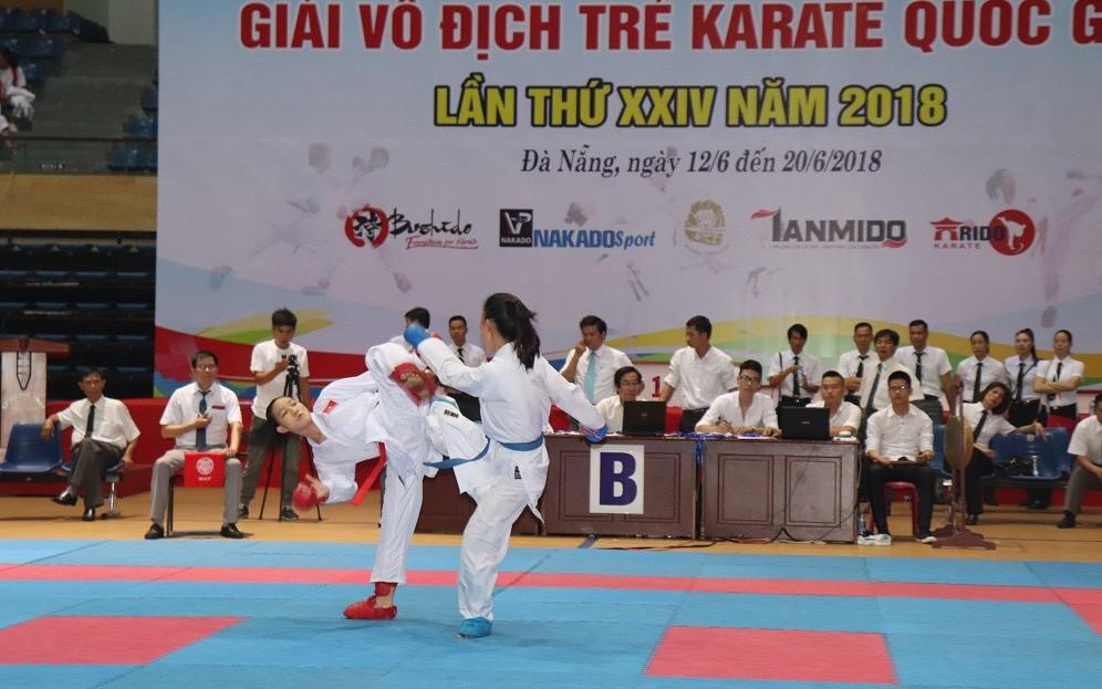 Lâm Đồng đăng cai giải vô địch trẻ Karate quốc gia 2019
