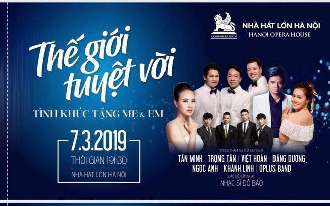 Nhà hát Lớn Hà nội với Chương trình ca nhạc