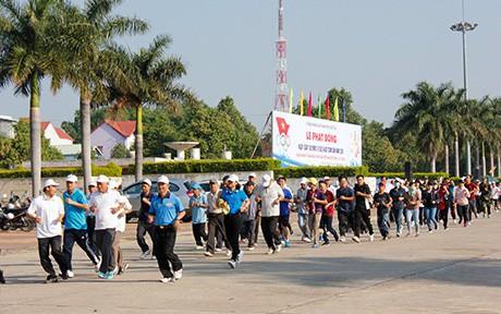 Kon Tum: Tổ chức Ngày chạy Olympic vì sức khỏe toàn dân năm 2019