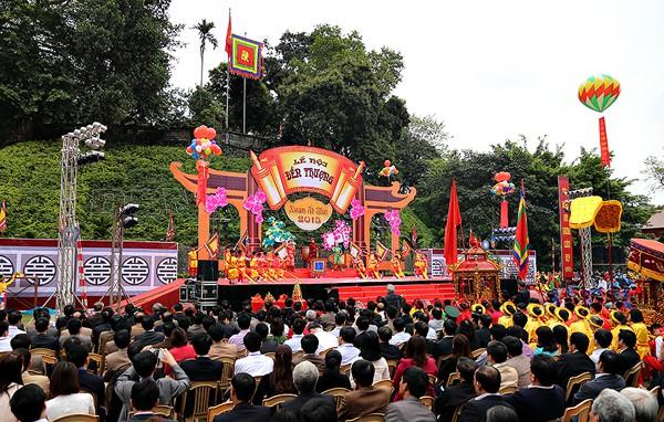 Bảo tồn, xây dựng Lễ hội Tản Viên Sơn Thánh thành Điểm hẹn văn hóa - Ảnh 1.